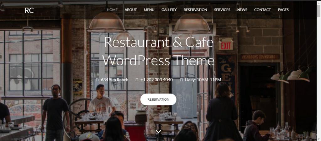 ТОП-4 лучших шаблонов для ресторанного бизнеса